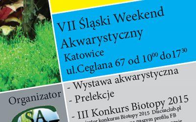 VII Śląski Weekend Akwarystyczny
